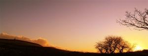 Darwen sunset