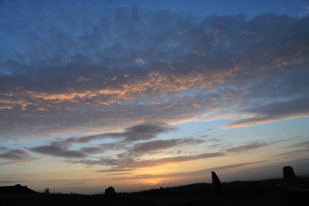 Sunset at Eddisbury