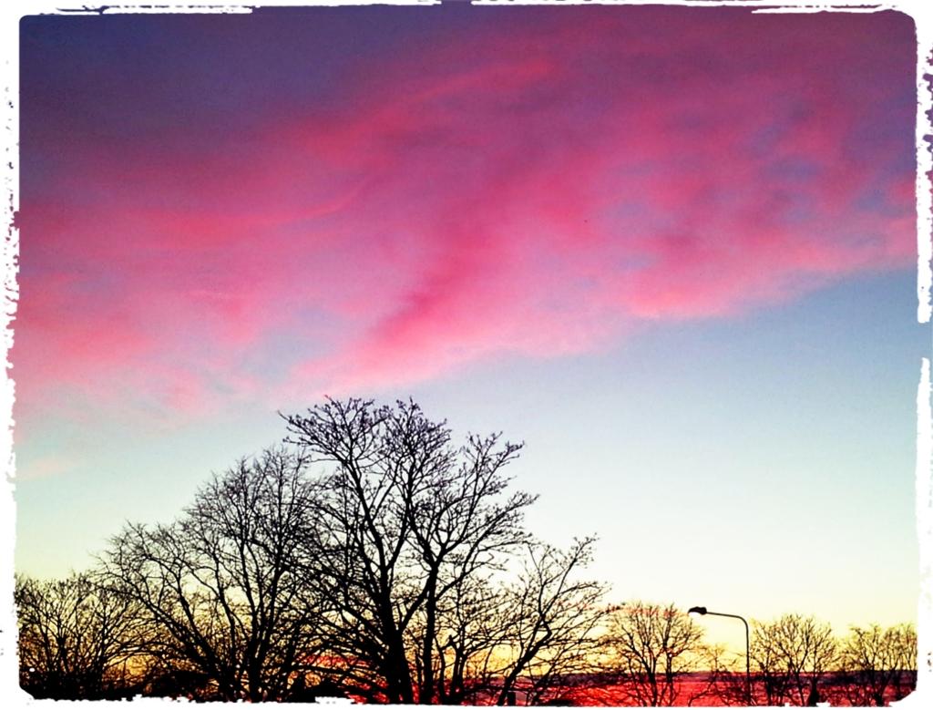 sunset 5th Jan