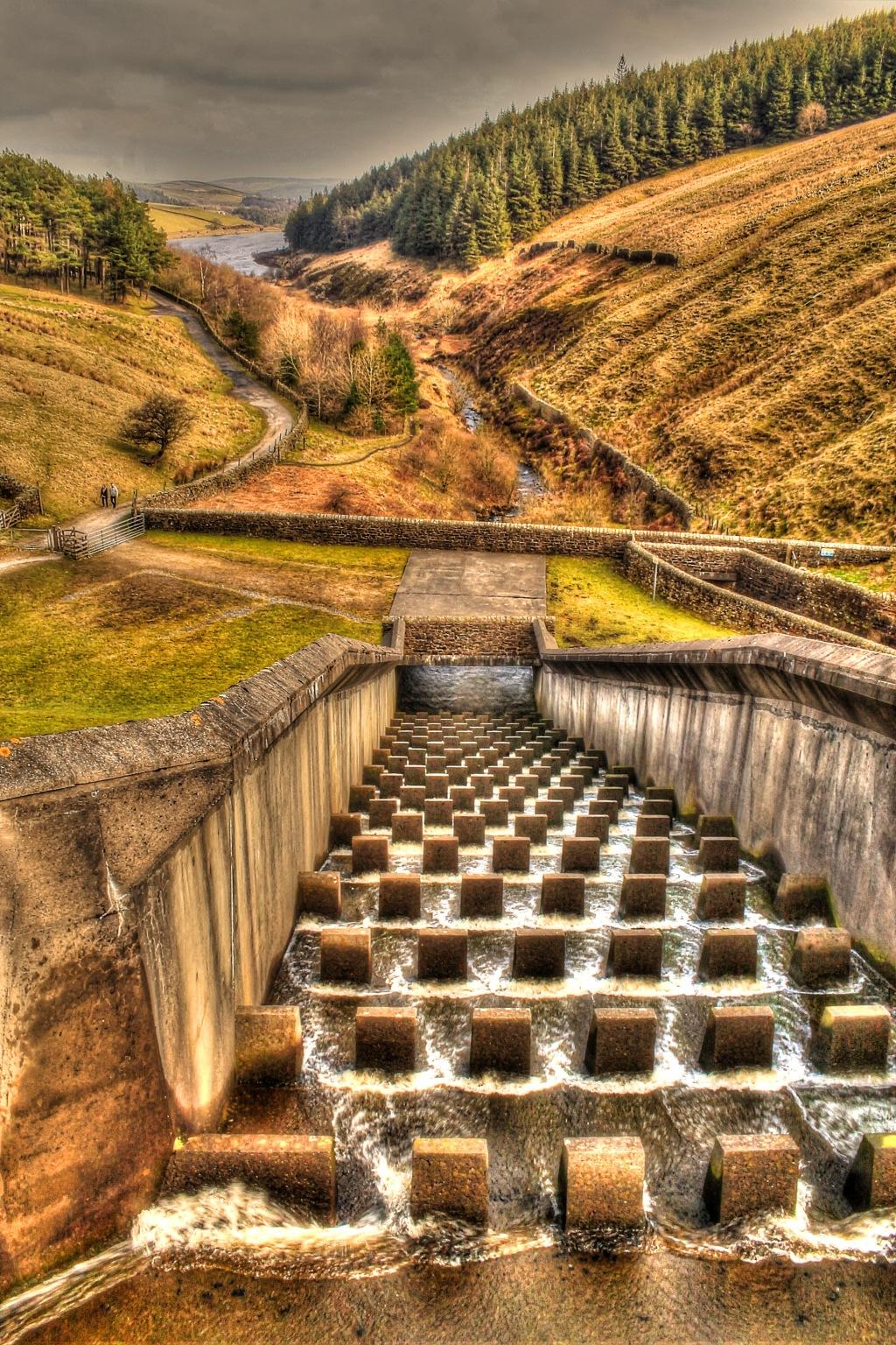 ogden reservoirs from top