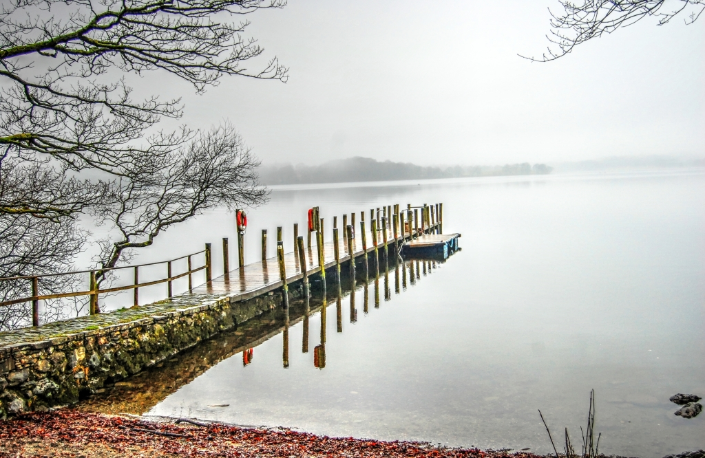 Jetty into Windermere