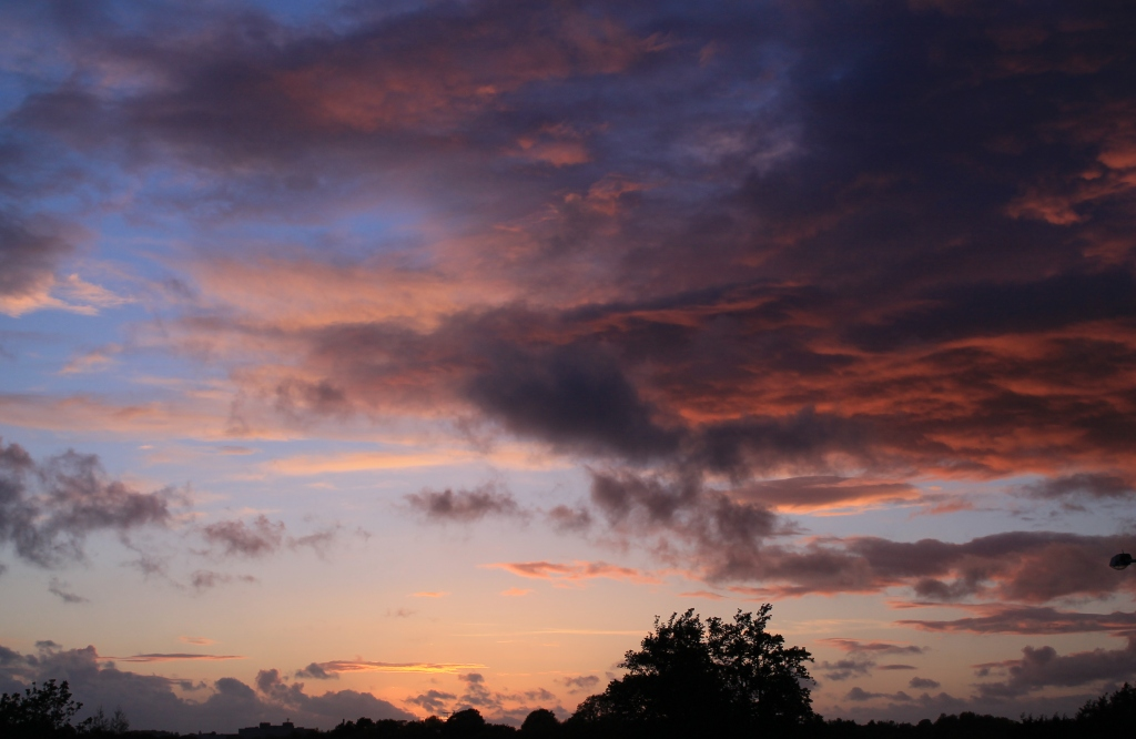 A turbulent cloud