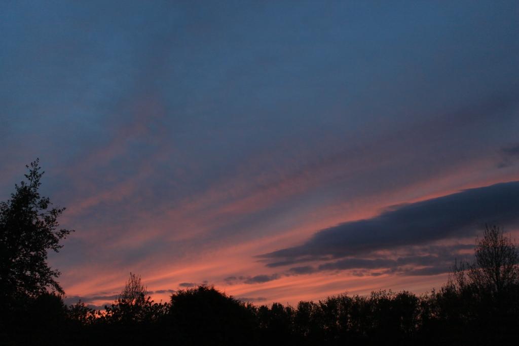 Hagerstown Castle sunset