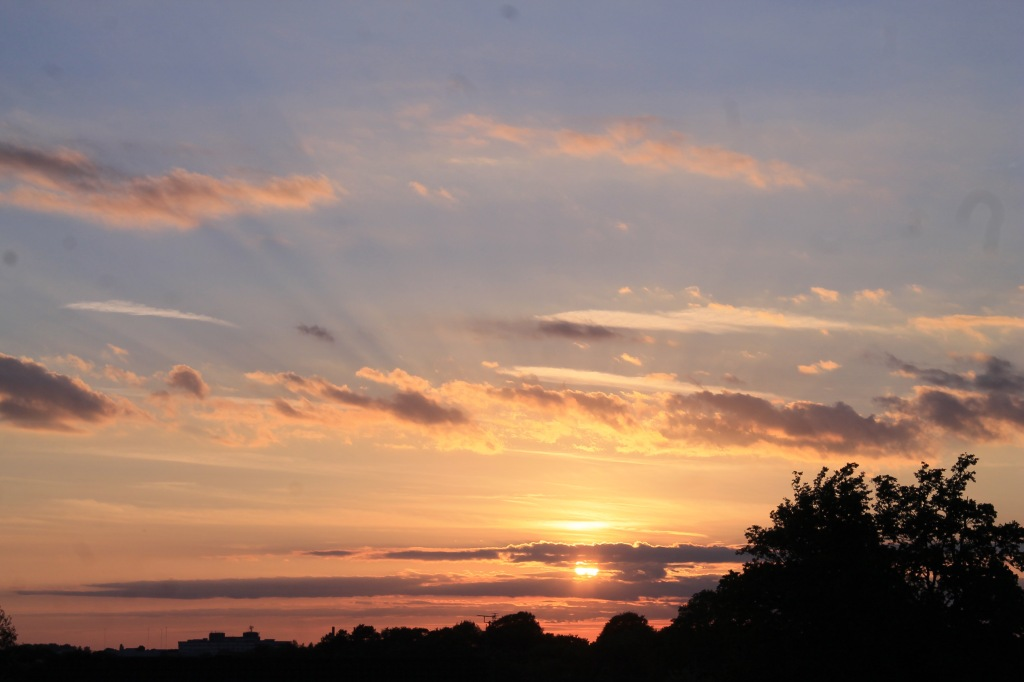 Sunset 9th June - renewed hope