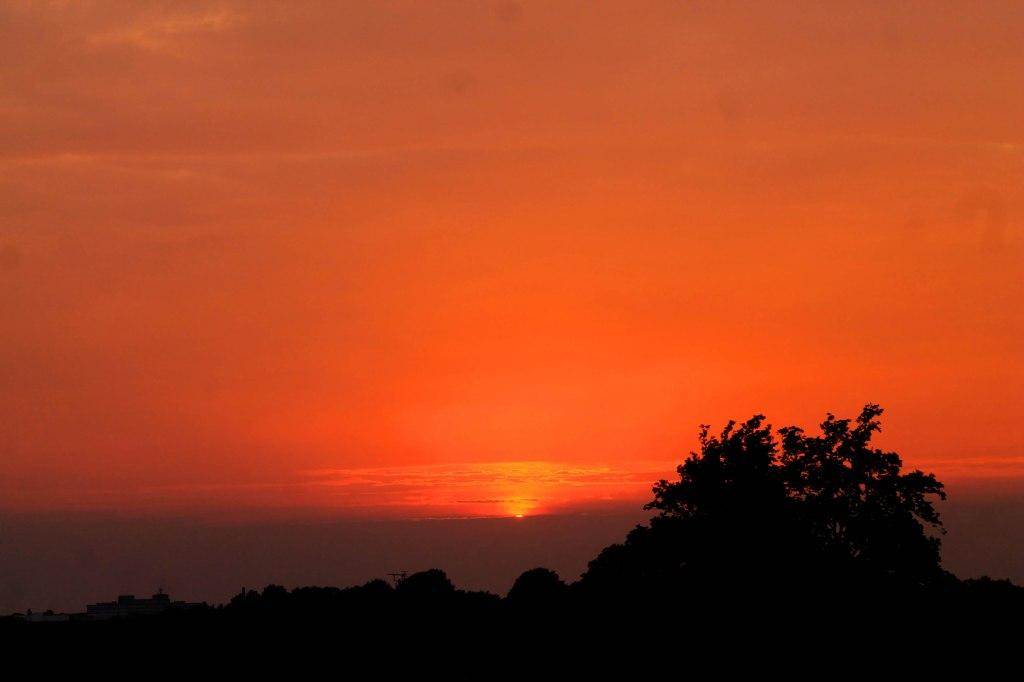sunset 12 june