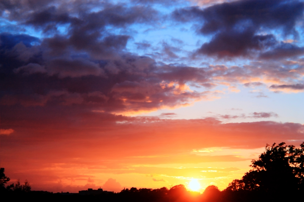 Sunset in Fulwood