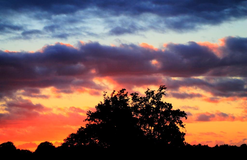 deep sunset