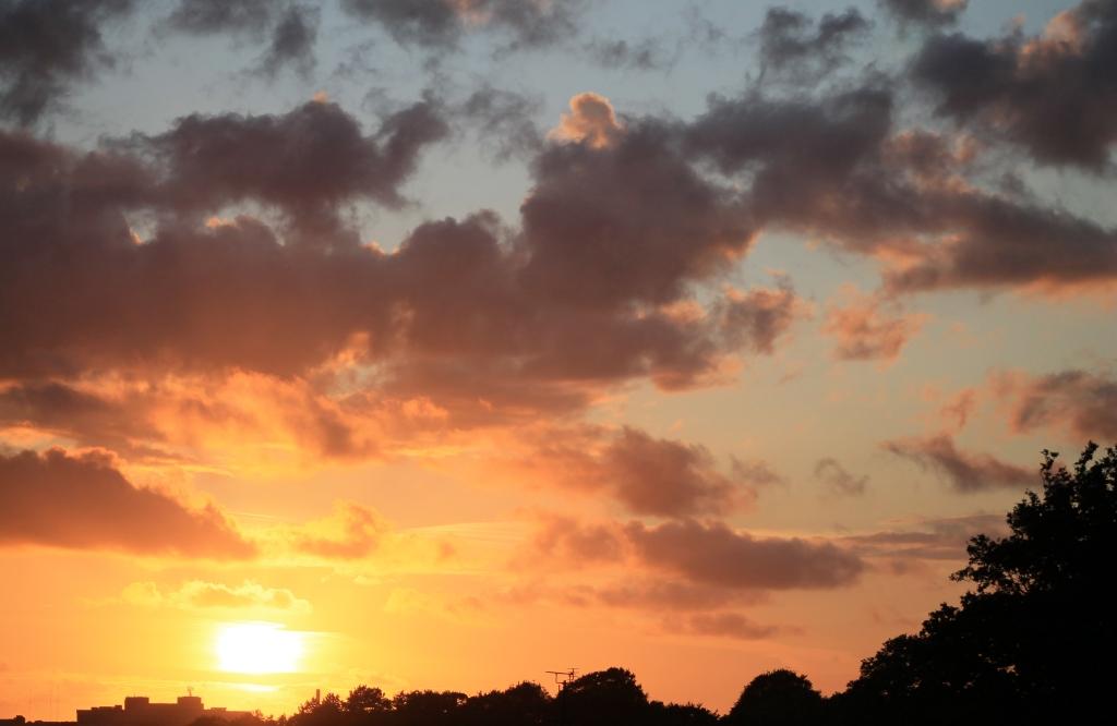 Sunset 30th July