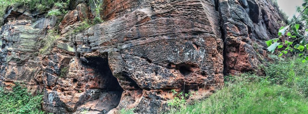 cave at Runcorn hills