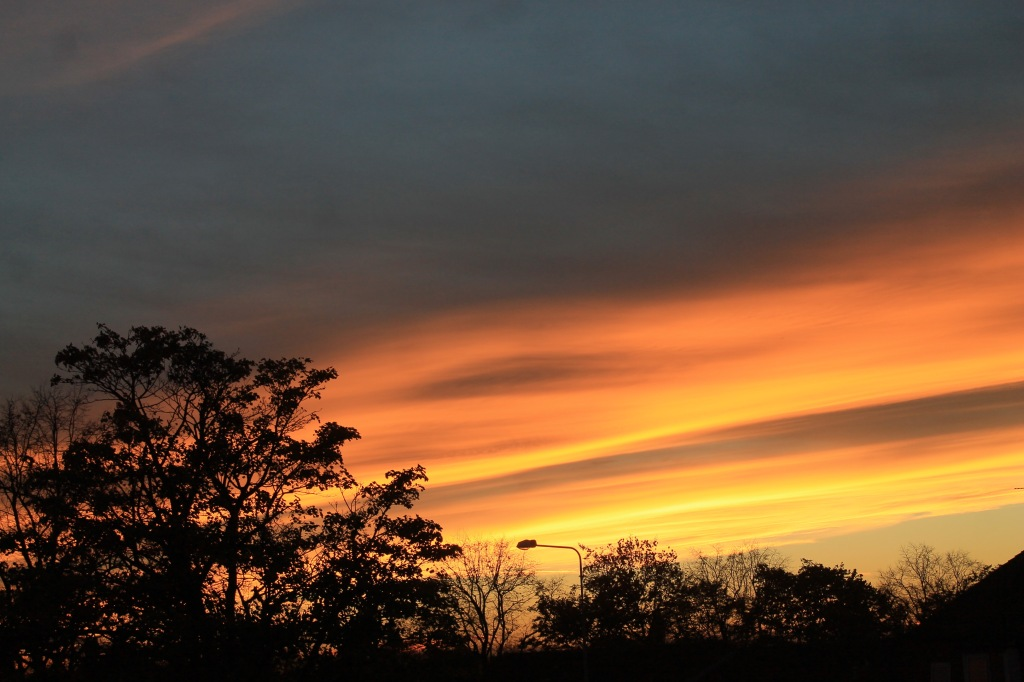 sunset 30th Oct
