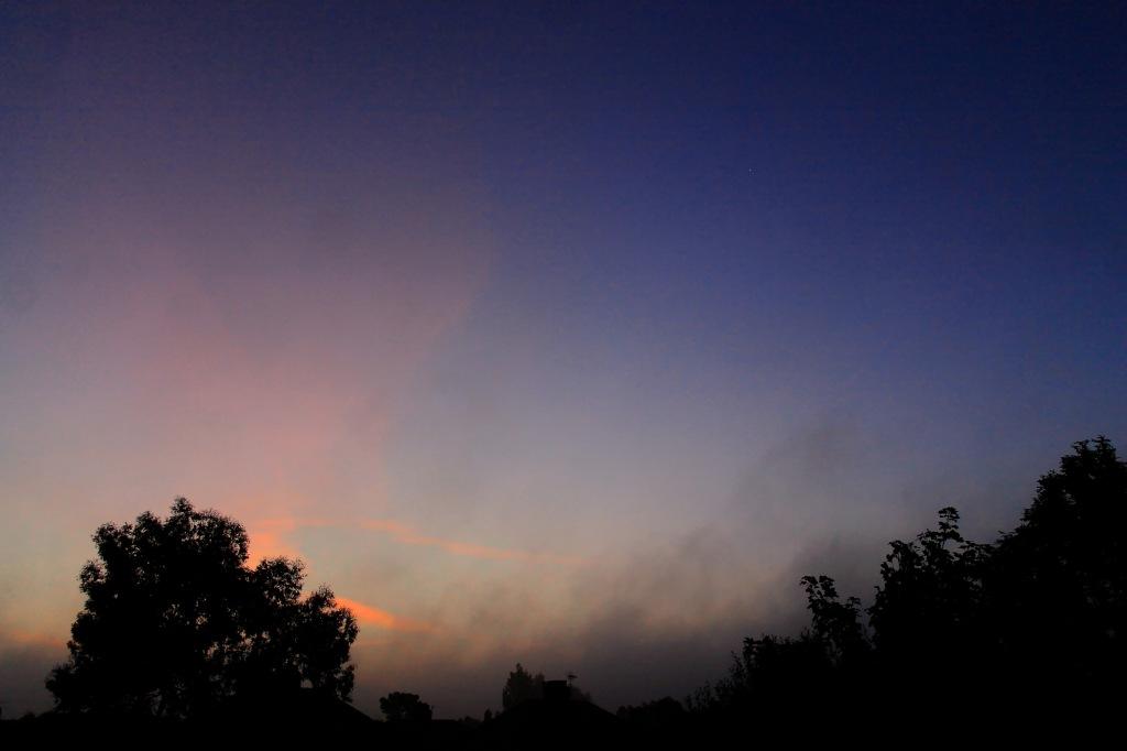 mist rising like morning prayers