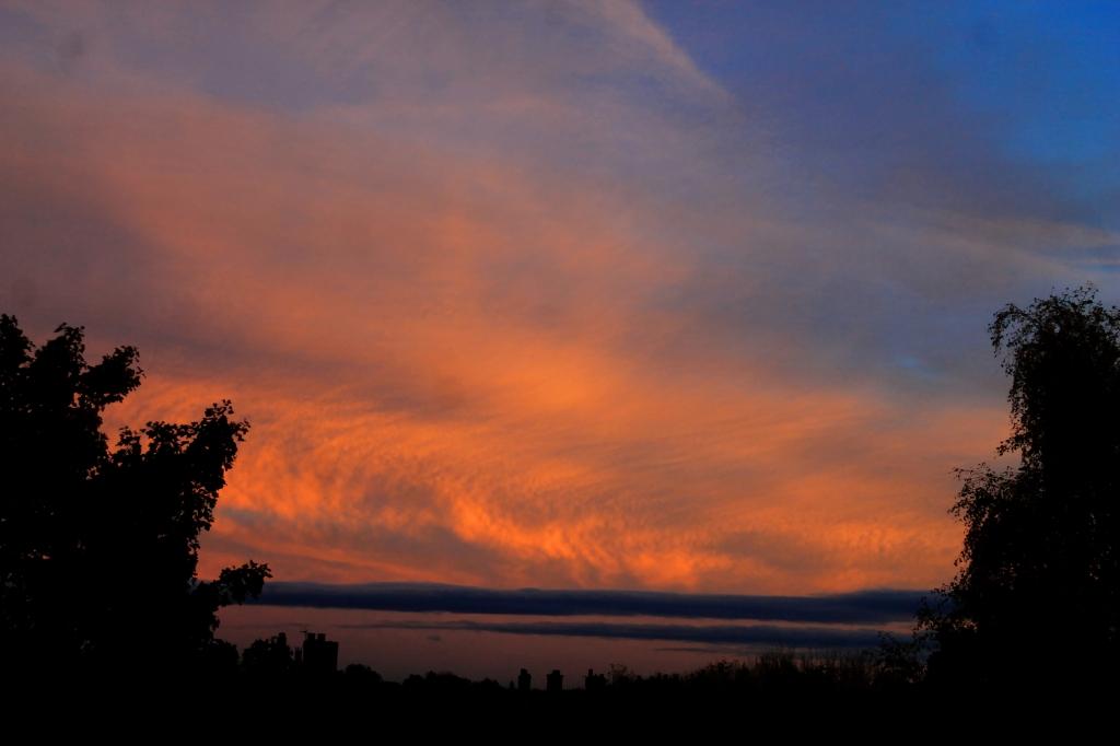 sky sunset 30th October