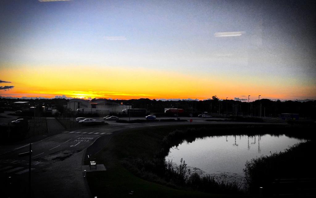 sunset 12 Oct