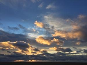 sunset 21 november