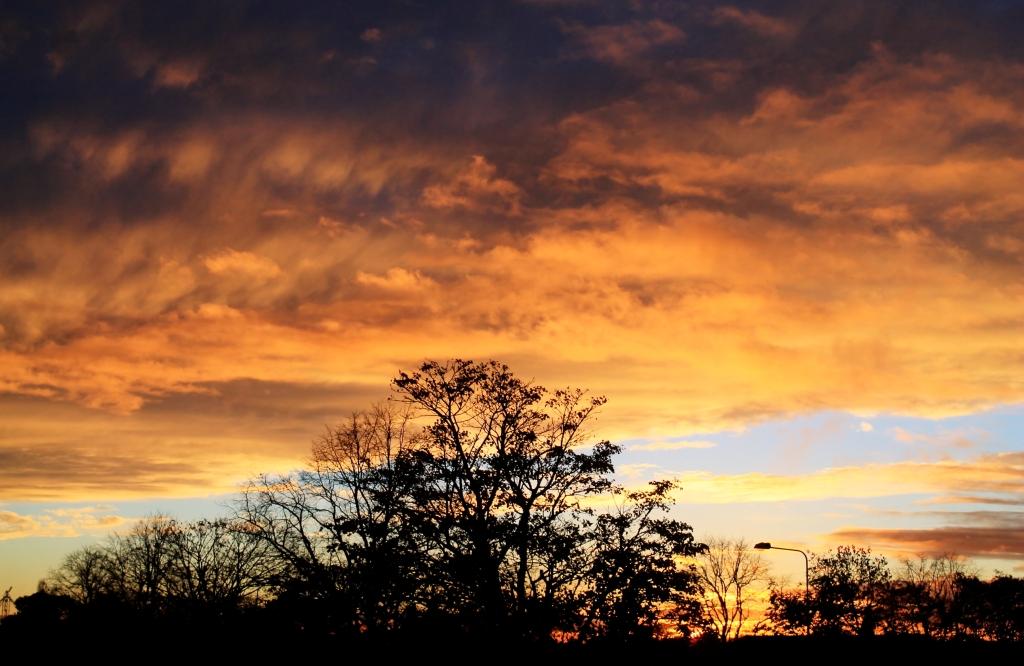 sky sunset 6th nov