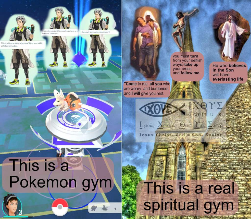 pokemon church